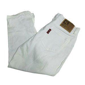 Ralph Lauren Polo Jeans Womens Size 10 Ankle Zip C